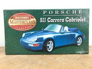 Matchbox Masterclass Collection LS001 PORSCHE 911 CARRERA CABRIO 1/24 Toy (LOT1)
