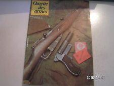 **d Gazette des armes n°121 Fusil de trois lignes modèle 1891 - 1930