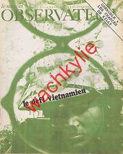 Le nouvel observateur n°169 du 07/02/1968 Vietnam Grenoble Reggiani Savignac