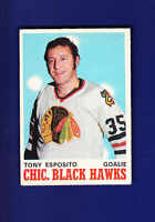 Tony Esposito HOF 1970-71 O-PEE-CHEE OPC Hockey #153 (VGEX) Chicago Blackhawks