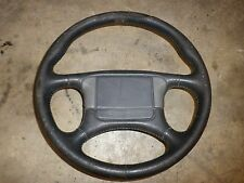 88 Firebird Trans Am LEATHER STEERING WHEEL w Horn Button 87 89 RARE 4 Recover 2