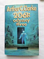 2061: Odyssey Three (Space Odyssey #3) by Arthur C. Clarke (HC) First Edition