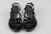 Stuart Weitzman Black Strappy Slingback Sandal, Size 7.5