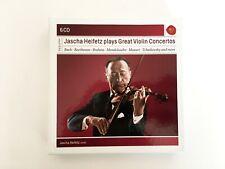 Jascha Heifetz Plays Great Violin Concertos 6 CD Set RCA - Bach, Beethoven