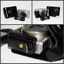 Retro Vintage Leather Camera case bag for Sony Cyber-shot DSC-HX50 HX60 HX30