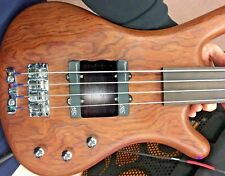 EBONY Warwick Corvette 4 String Bass Ramp Thumb Rest