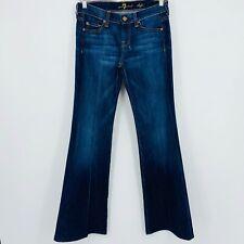 7 for All Mankind women's Jeans DOJO sz 25 bootcut dark wash