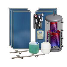 Thermische Solaranlage 6 Flachkollektoren 800 l Hygienespeicher Solarthermie