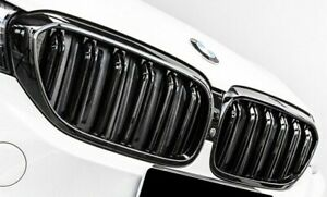 BMW G30 5-Series Front Grill M5 Style - Gloss Black