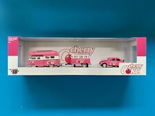 M2 Hauler Cherry Coke pink 1959 VW Double Cab & 1953 VW Beetle Deluxe TW04