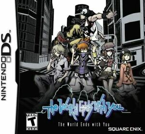 The World Ends with You USA VERSION (DS, 2008) GAME CARTRIDGE ONLY, TESTED GIFT
