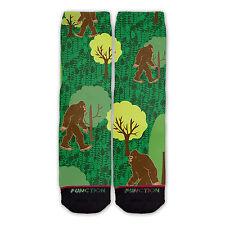 Function - Big Foot Printed Sock novelty socks sublimation socks funny socks big
