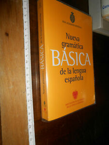 LIBRO :Nueva Gramatica Basica Real Academia, Espanola, Lengua 9788467034714