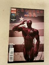 CARNAGE USA #5 NM 9.4 CLAYTON CRAIN COVER LAST ISSUE