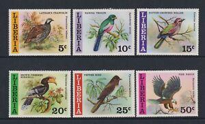 Liberia - 1977, Liberianische Wild Vögel Set - MNH - Sg 1307/12