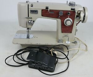Vintage Brother Opus 821 Domestic Portable Sewing Machine - Tested/Working