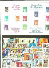 TIMBRES FRANCE NEUFS ** LUXE ANNEE 2001 avec blocs complets 33 à 42