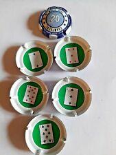 Capsule de champagne Générique jetons de poker 20