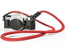 Red 100CM Rope Camera Neck Shoulder Strap HandMade, Tough, Durable UK SELLER