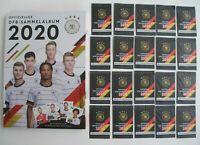 Rewe Sammelalbum DFB EM 2020 DFB Sammel Album + 20 Sammelkarten Leeralbum !! Neu