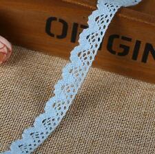 5 Yard Multicolor Lace Trim Wedding Bridal Ribbon Sewing DIY handcrafts
