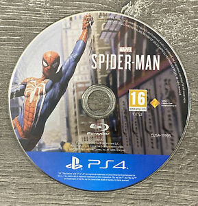 MARVEL SPIDERMAN SONY PLAYSTATION 4 GAME - DISC ONLY