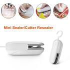 Portable 2 in 1 Sealer/Cutter Resealer Heat Sealing Machine Mini Plastic Bag US