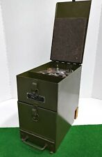 Vintage Wwii U.S. Army Radio Tool Chest Ch-264 For Jeeps & Other Vehicles Rare!