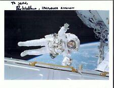 Spacewalker Astronaut Rex Walheim Autograph,Hand Signed