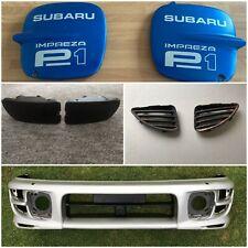 JDM Subaru Impreza Wrx STi Facelift Kouki Front Bumper Ver 5 / 6 GC8 GF8 GC8A RS