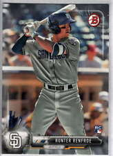 Hunter Renfroe 2017 Bowman #99 RC / Padres