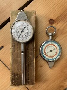 2 X Vintage Map Measuring Tools