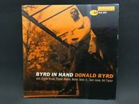 Lp Byrd In Hand Donald Blue Note Nyc 4019 Both Sides Rvg Ear Deep Groove 01