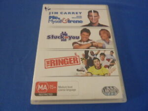 Me, Myself & Irene / Stuck on You / The Ringer - DVD - Region 4