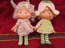VINTAGE 1982 Kenner Strawberry Shortcake DollS: MINT TULIP  & ANGEL FOOD CAKE