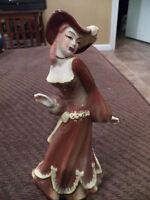 Ceramic Arts Studio Promenade Woman in brown