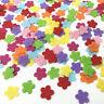 400pcs Felt Appliques Mixed Colors Flowers Cardmaking decoration Craft 12mm