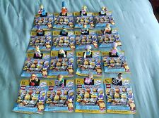 Sealed Lego 71009 Simpson Series 2 Complete Set Of All 16 Characters!!