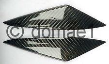Suzuki GSX-R 1000 carbon fiber tank side panels cover infill pair K5 K6 2005-06