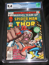 Marvel Team-Up #70 (1978) CGC 9.4 Spider-Man teams up with Thor! app by Havok