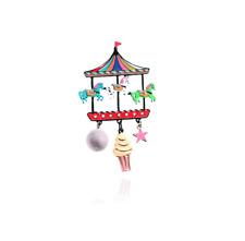 Lol Bijoux - Broche Fête Foraine - Manège - Glace - Chevaux Multicolores
