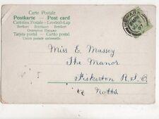 Miss E Massey The Manor Fiskerton Nottinghamshire 1907 460b