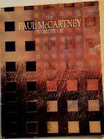 Vintage Paul McCartney World Tour Program