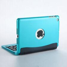 Ultra Slim Aluminium Bluetooth Keyboard with cover case for ipad Mini 4