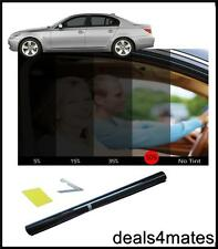 WINDOW TINT FILM TINTING LIGHT BLACK  KIT 50% 50x300CM
