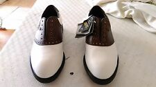 Nwt Unused Walter Hagen Full Leather & Gore Tex Sz. 9.5M Golf Shoes
