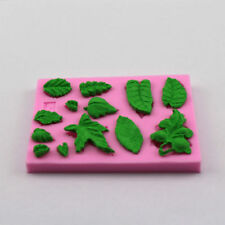 LEAF LEAVES Silicone Fondant Cake Topper Mold Mould Chocolate Candy Baking
