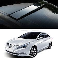 Uethane Roof Rear Visor Wing Spoiler Molding for Hyundai Sonata / i45 2011-2014
