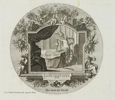 PROBST(*1721), Emblem, Der Arme liegt überall, nach Ovid, um 1750, KSt