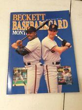 Beckett Baseball Magazine Monthly Price Guide Kevin Michell Will Clark Nov 1989